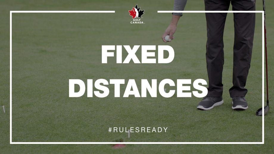 Fixed distances