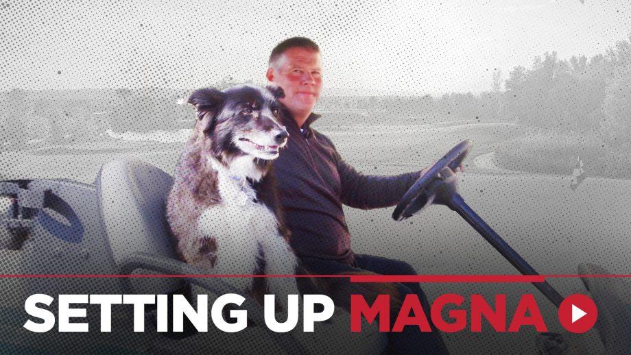Magna Golf Club superintendent Wayne Rath