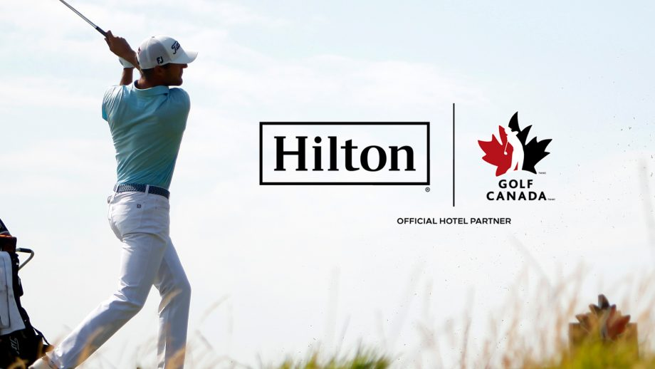 Hilton becomes official hotel partner of Golf Canada