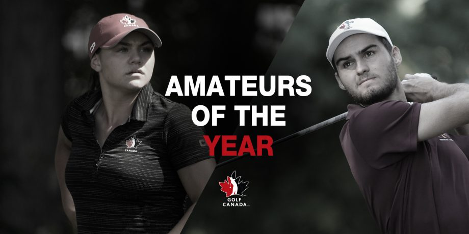 Golf Canada 2019 National Orders of Merit winners