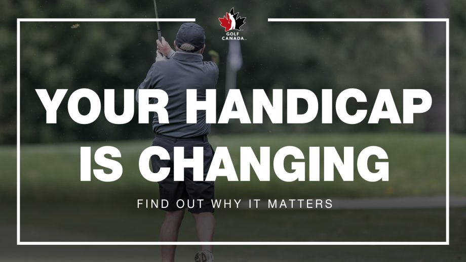 World Handicap System coming to Golf Canada in 2020
