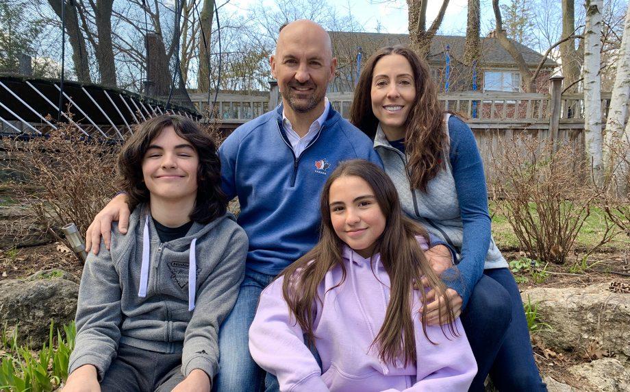 Laurence Applebaum & family