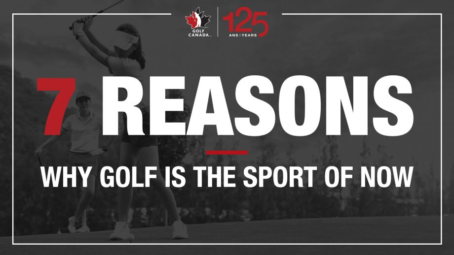 7 reasons why golf is the sport of now