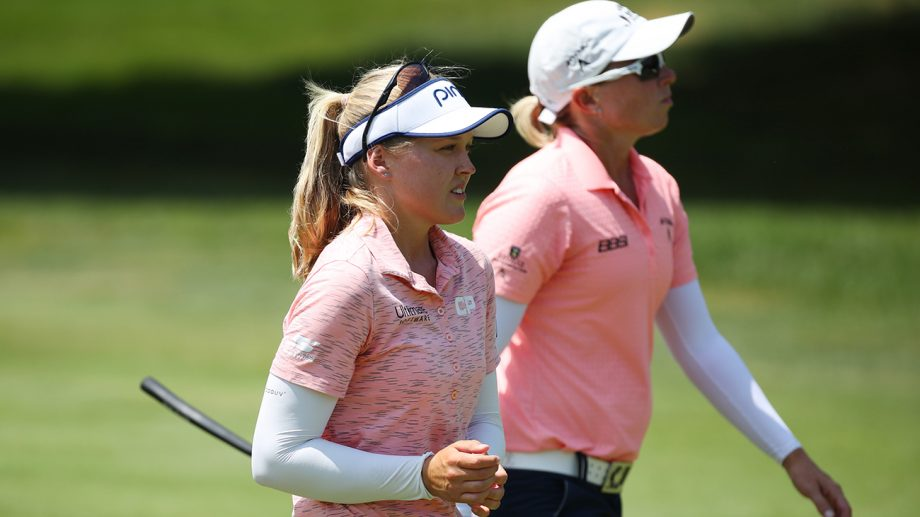 Brooke Henderson, Alena Sharp